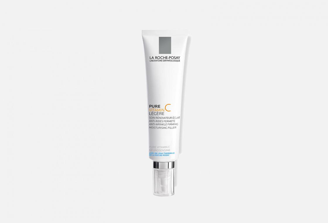 Крем-филлер для заполнения морщин для нормальной и комбинированной кожи La Roche-Posay PURE VITAMIN C LIGHT