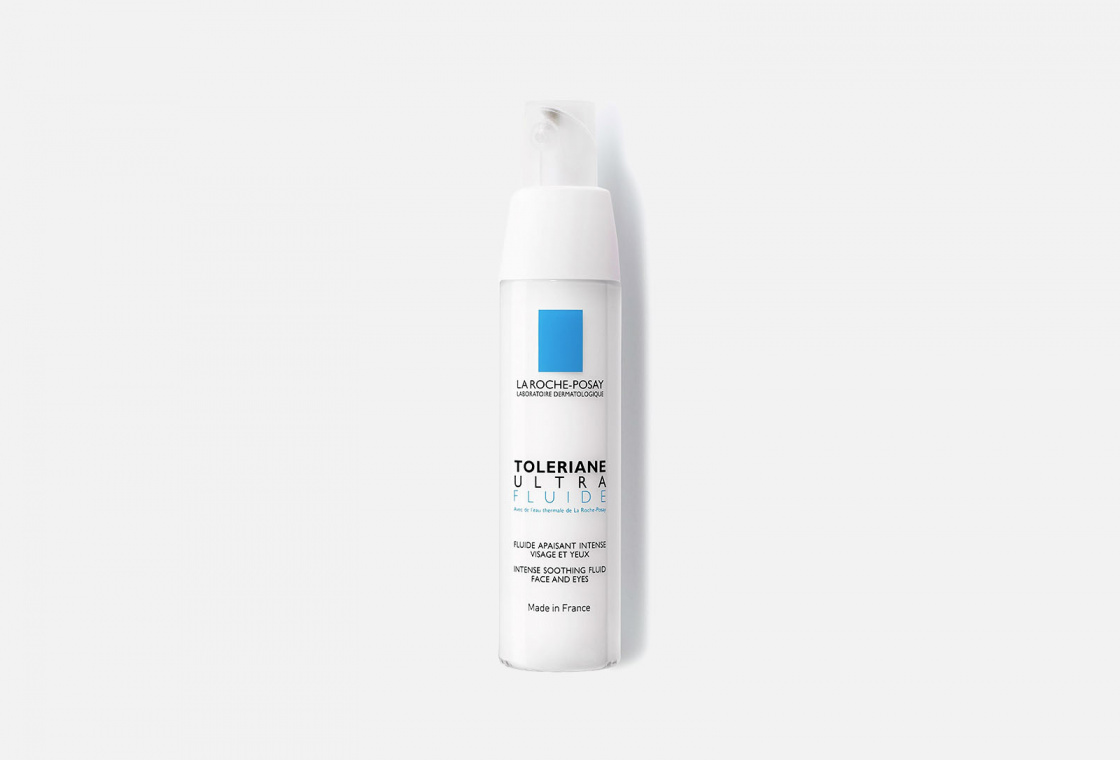 Интенсивный успокаивающий уход для сверхчувствительной и аллергичной кожи La Roche-Posay  Toleriane Ultra Fluide