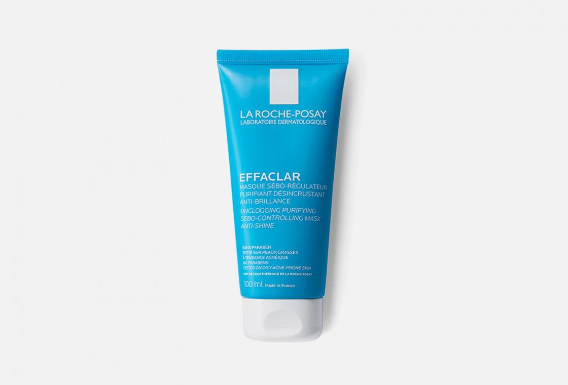 Очищающая матирующая маска La Roche-Posay EFFACLAR
