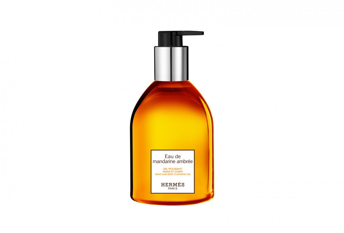 Гель-мусс для тела и рук HERMÈS Eau de mandarine ambrée