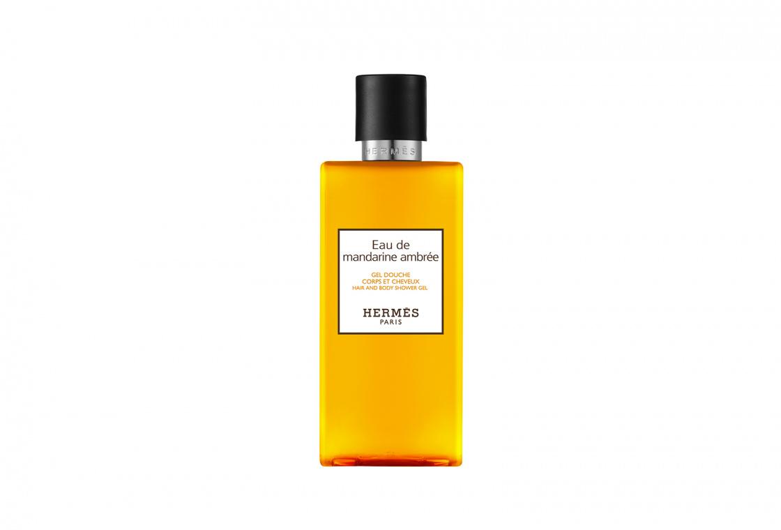 Шампунь для тела и волос HERMÈS Eau de mandarine ambrée