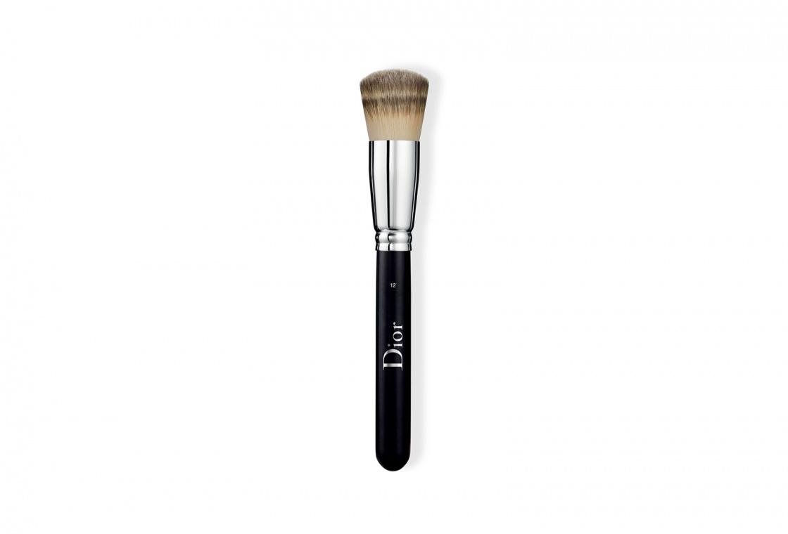 Кисть тонального крема (плотное покрытие) Dior Backstage Full Coverage Fluid Foundation Brush №12
