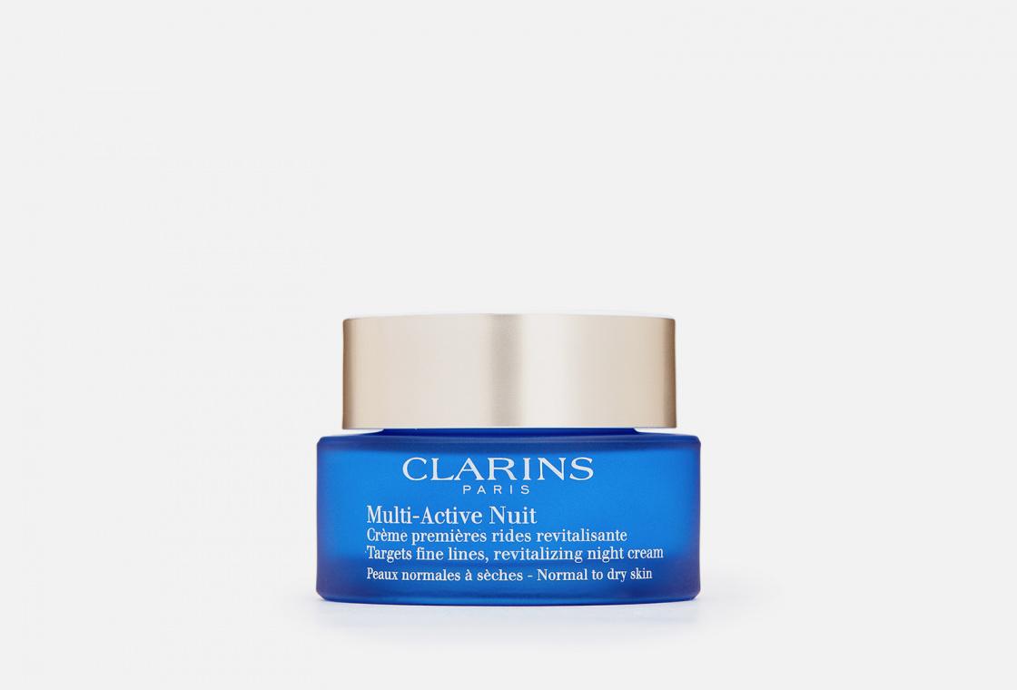 Ночной крем для нормальной и сухой кожи Clarins Multi-Active