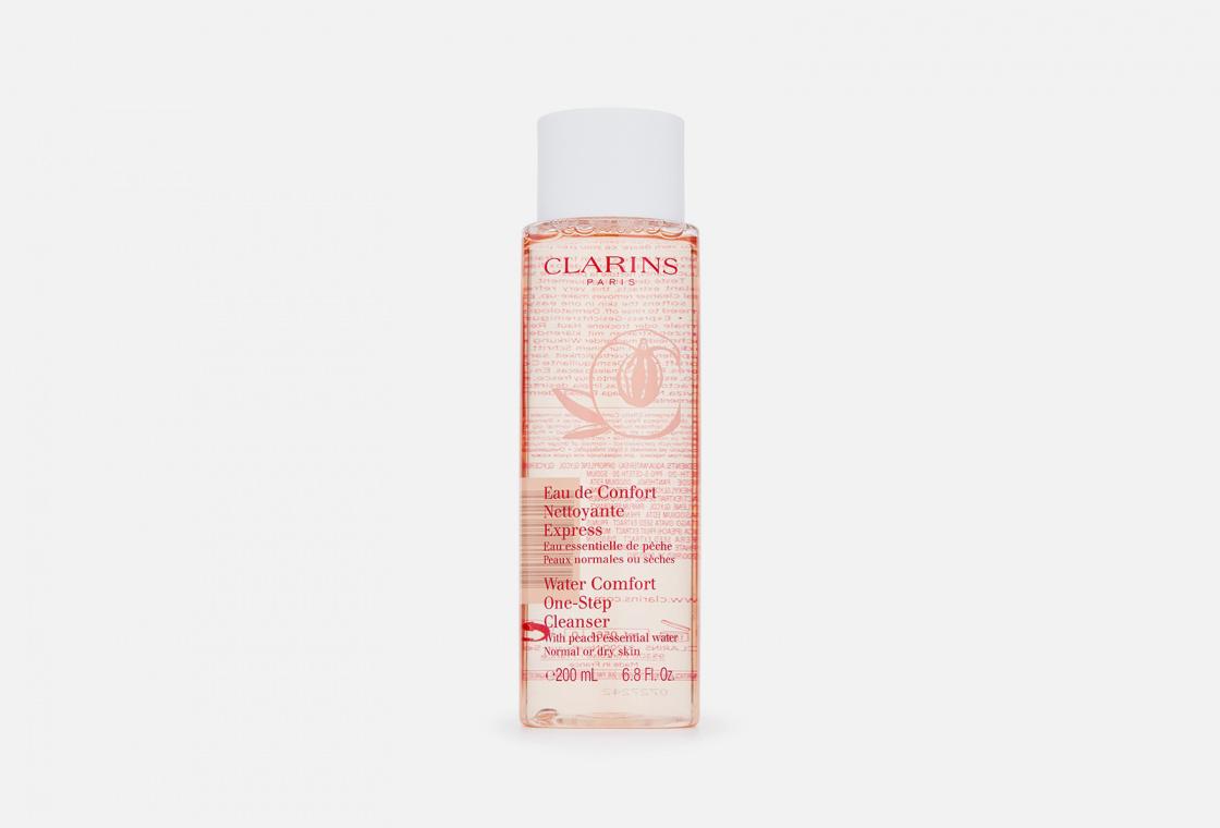Очищающая вода для сухой и нормальной кожи, с экстрактом персика Clarins Eau Nettoyante