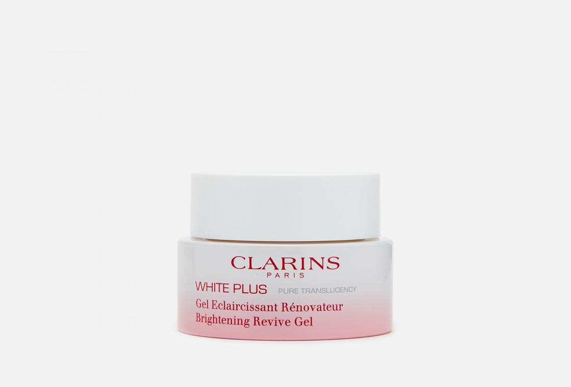 Обновляющая ночная гель-маска, осветляющая тон кожи Clarins White Plus