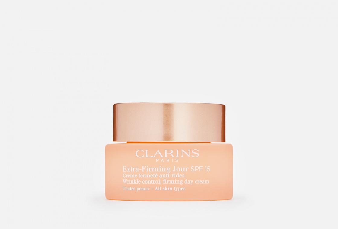 Регенерирующий дневной крем против морщин для любого типа кожи SPF 15 Clarins Extra-Firming