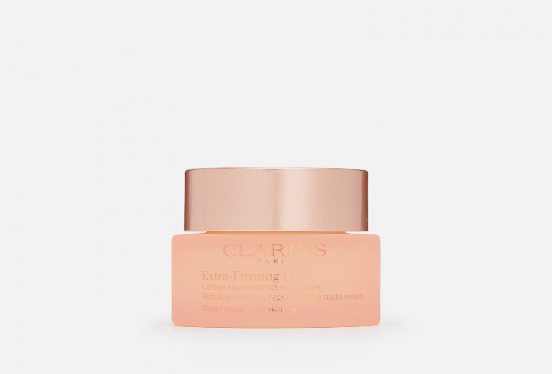 Регенерирующий ночной крем против морщин для любого типа кожи Clarins Extra-Firming