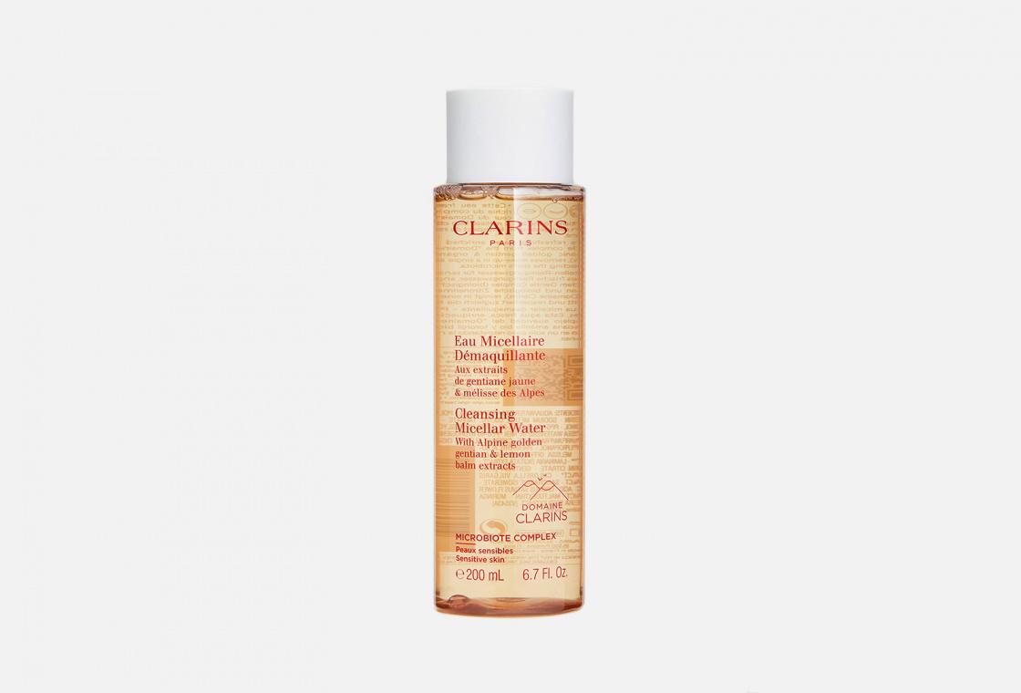 Мицеллярная вода для чувствительной кожи Clarins Eau Micellaire Demaquillante
