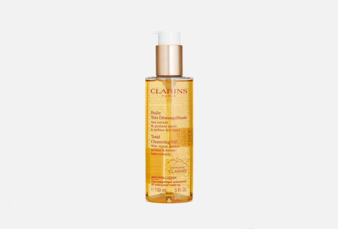 Очищающее масло для любого типа кожи Clarins Huile Tres Demaquillante