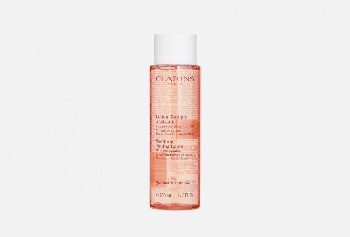 Успокаивающий тоник для очень сухой и чувствительной кожи Clarins Lotion Tonique Apaisante