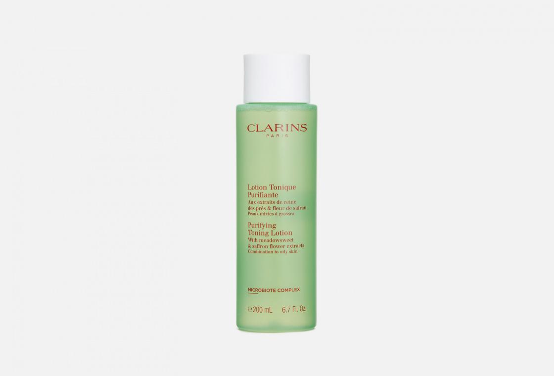 Очищающий тоник для комбинированной и жирной кожи Clarins Lotion Tonique Purifiante