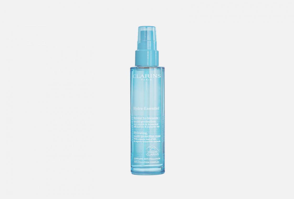 Интенсивно увлажняющий защитный спрей для лица Clarins Hydra-Essentiel