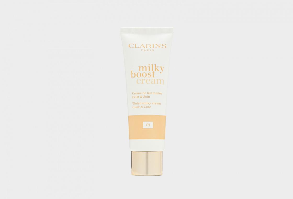 Тональный крем с эффектом сияния Clarins Milky Boost Cream