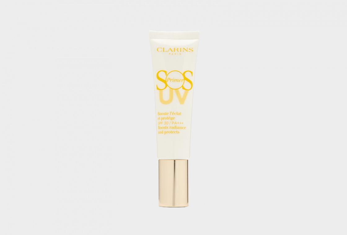 База под макияж, придающая сияние коже SPF 30 Clarins SOS Primer UV