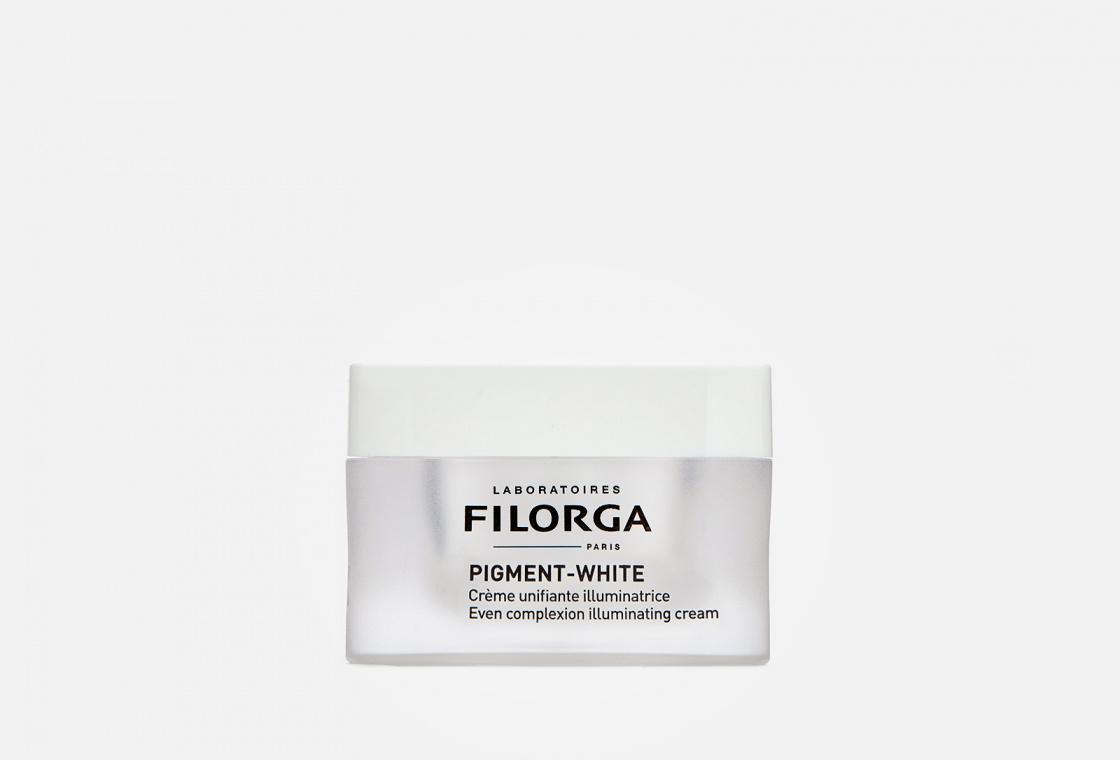 Осветляющий выравнивающий крем  FILORGA PIGMENT-WHITE