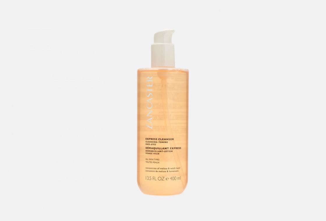 экспресс-очищающее средство 3 в 1 для всех типов кожи  LANCASTER Express Cleanser Cleansing-Toning Face-Eyes