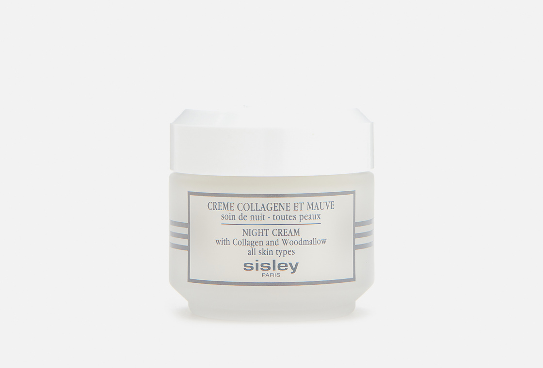 Крем с коллагеном и мальвой Sisley Night Cream with Collagen and Woodmallow