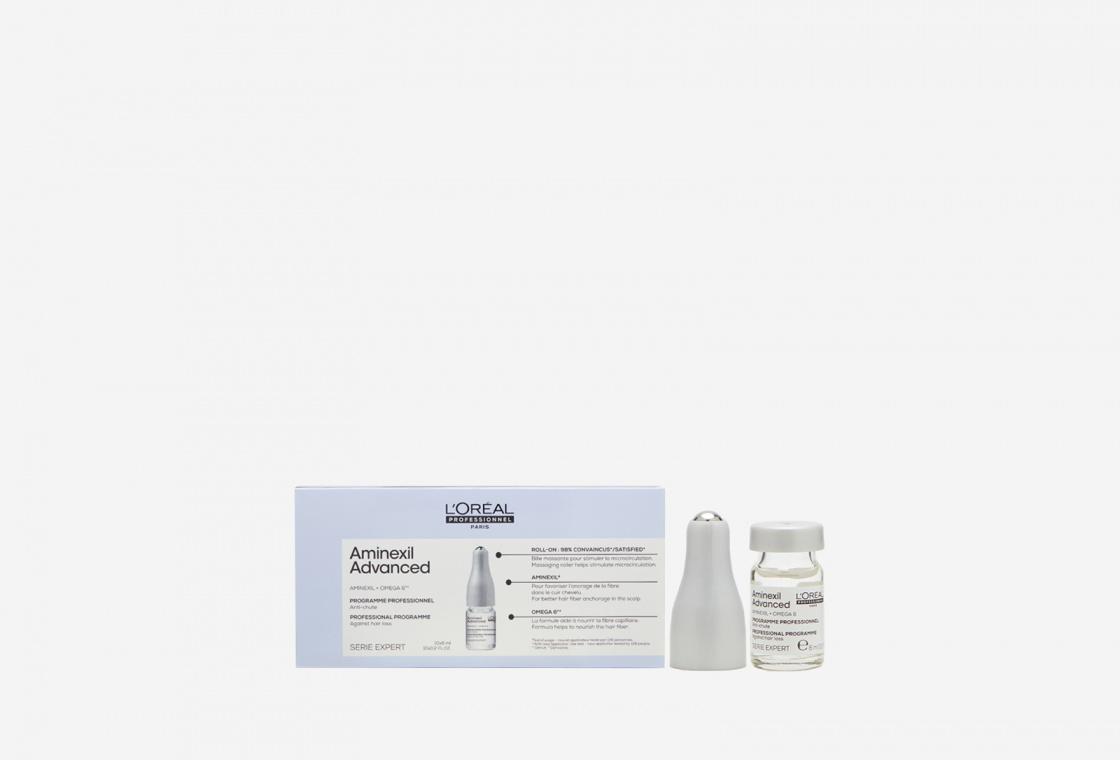 Лосьон в монодоз от выпадения волос L'Oreal Professionnel Lotion Serie Expert Aminexil Advanced