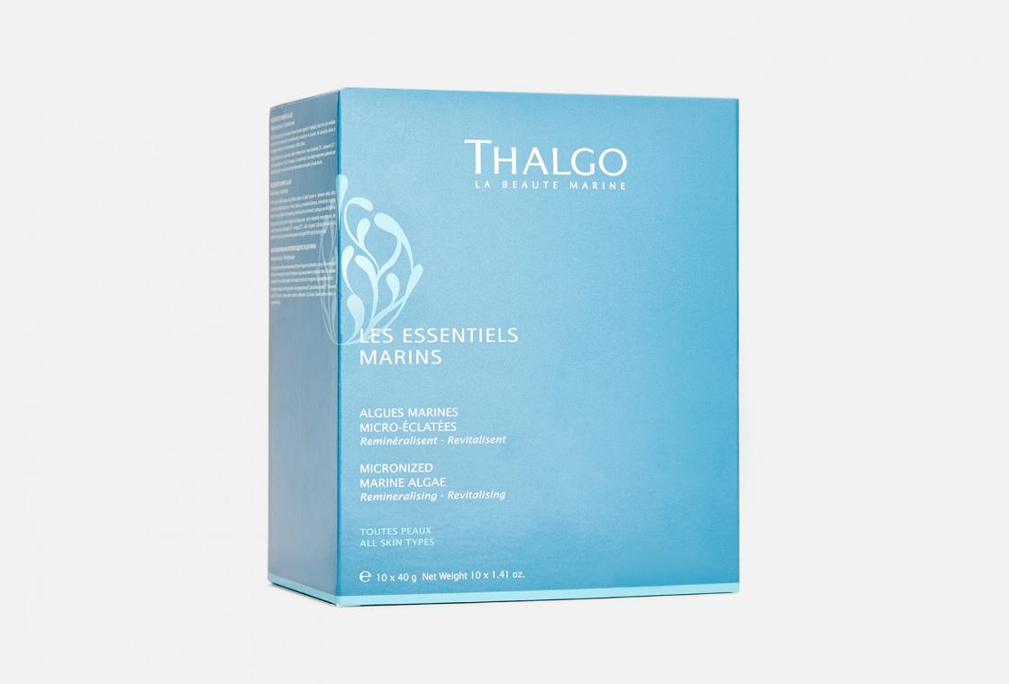 Водоросли для ванны  10 сашетов Thalgo Micronized Marine Algae