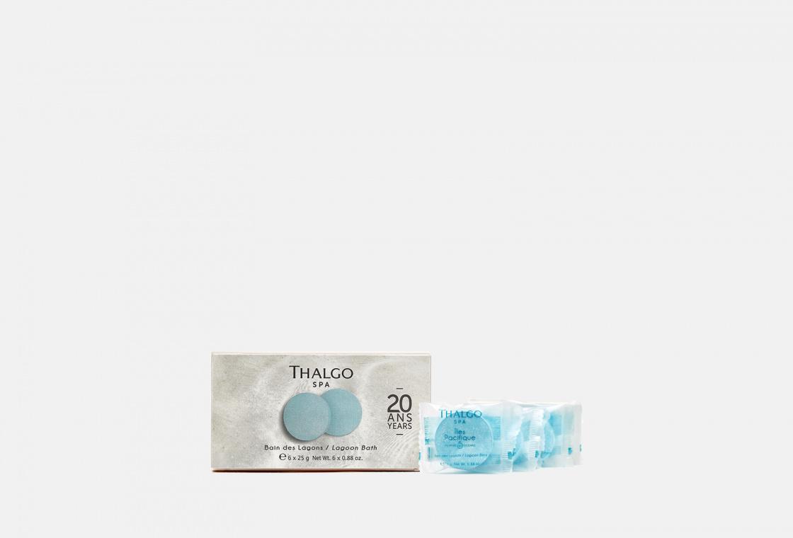Таблетки шипучие для ванны 6*33гр Thalgo Lagoon Bath