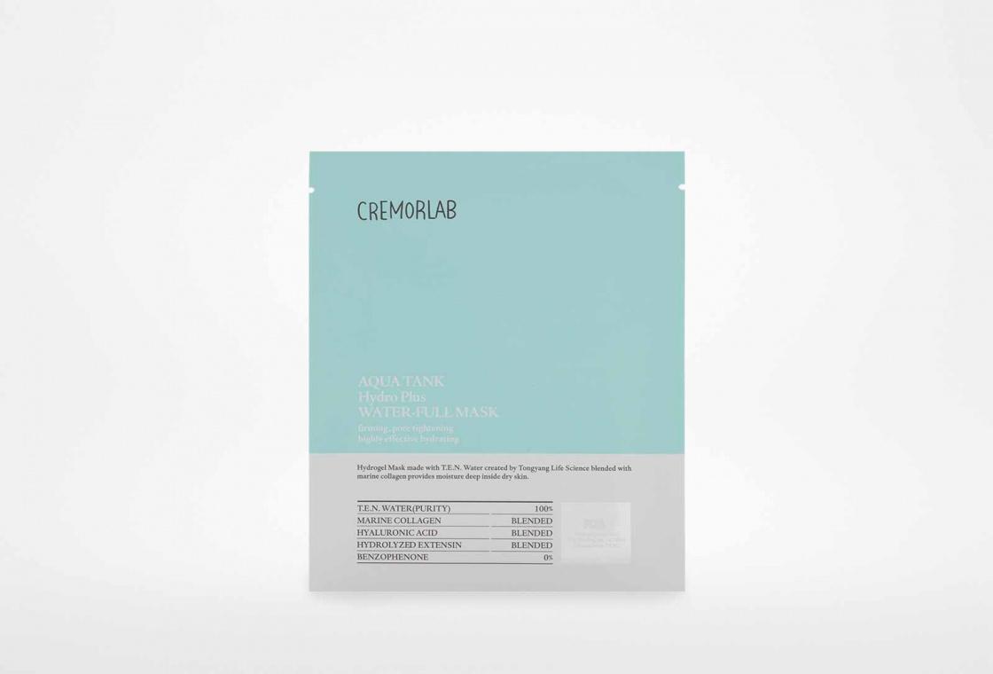 Маска для лица Cremorlab Aqua Tank Hydro Plus Water-full Mask