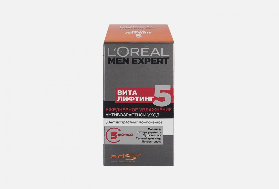 Тонизирующий уход , увлажняющий, антивозрастной L'Oreal Paris Men Expert Vitalifting 5
