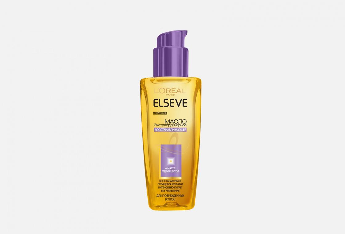Масло для волос для секущихся кончиков Elseve Экстраординарное масло