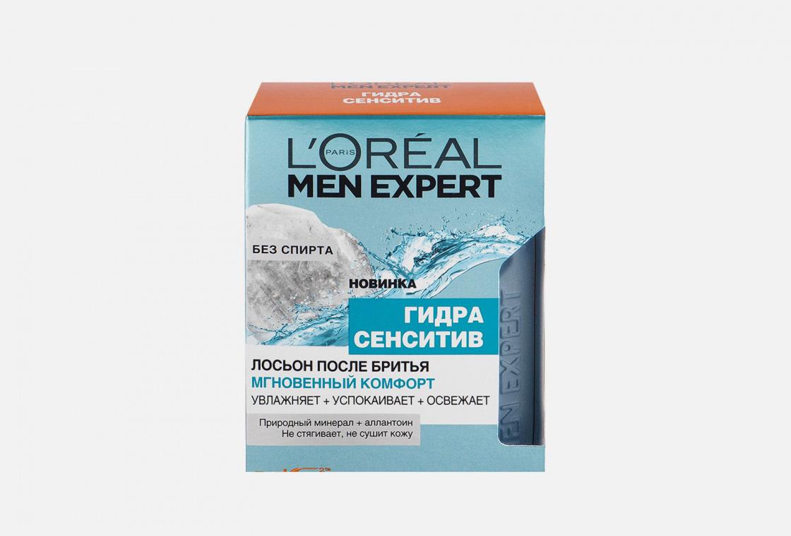 Лосьон после бритья увлажняющий, успокаивающий, для чувствительной кожи L'Oreal Paris Men Expert Hydra Sensitive