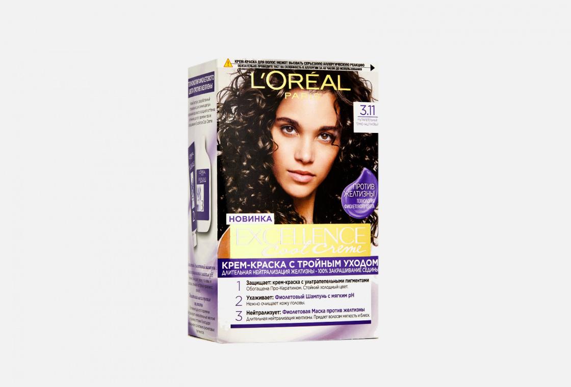 Стойкая крем-краска для волос L'Oreal Paris Excellence Cool Crème