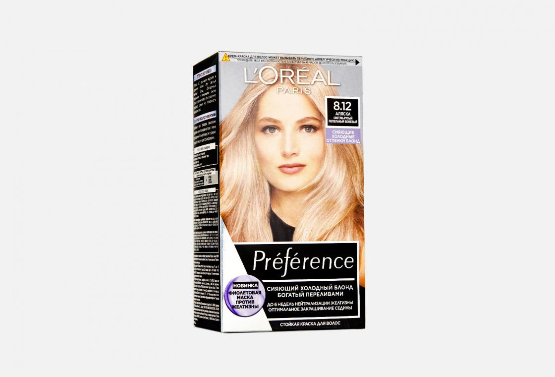 Стойкая крем-краска для волос L'Oreal Paris Préférence Cool Blondes