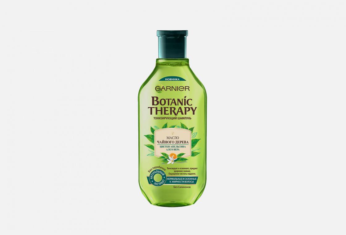 Шампунь для нормальных и склонных к жирности волос Garnier Botanic Therapy Масло чайного дерева