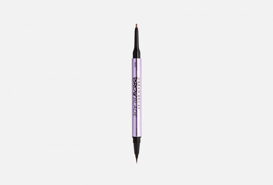 Сверхчеткий маркер и водостойкий карандаш. Средство для бровей 2 в 1 Urban Decay BROW BLADE