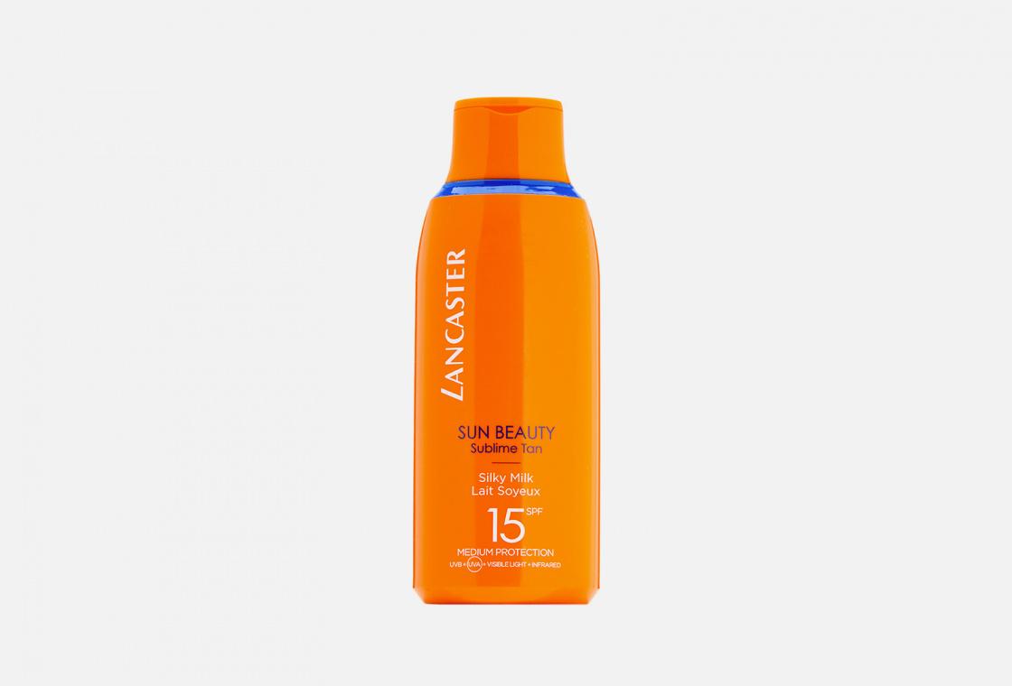 легкое молочко для тела SPF15 LANCASTER Sun Beauty Sublime Tan