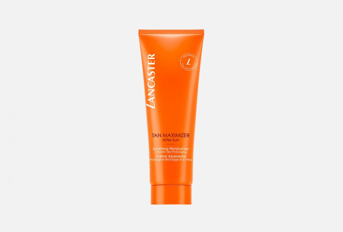 Успокаивающий крем Активатор загара для лица и тела  LANCASTER Tan Maximizer Repairing After Sun Soothing Moisturizer - Face & Body