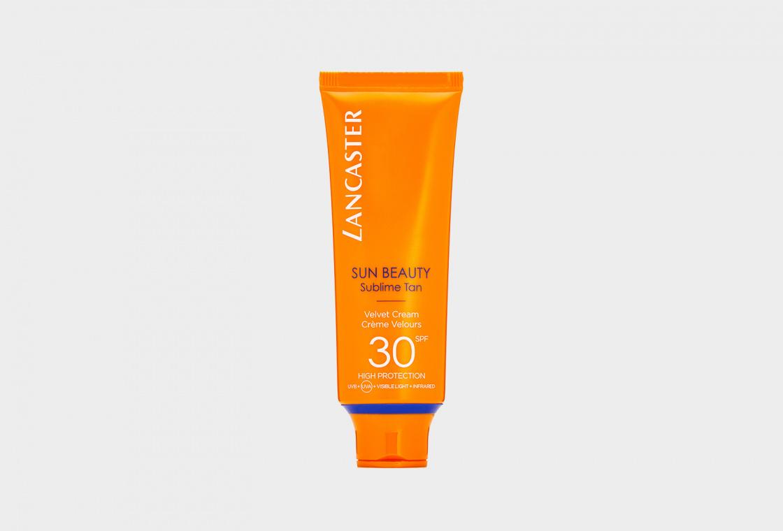 солнцезащитный крем для лица SPF30 LANCASTER Sun Beauty Sublime Tan