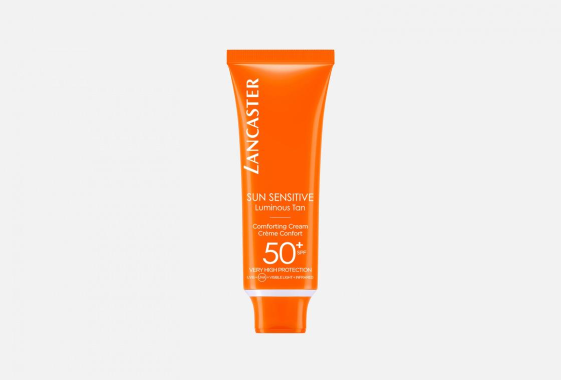 Лосьон для лица SPF50+  LANCASTER Sun Sensitive Delicate Comforting Cream