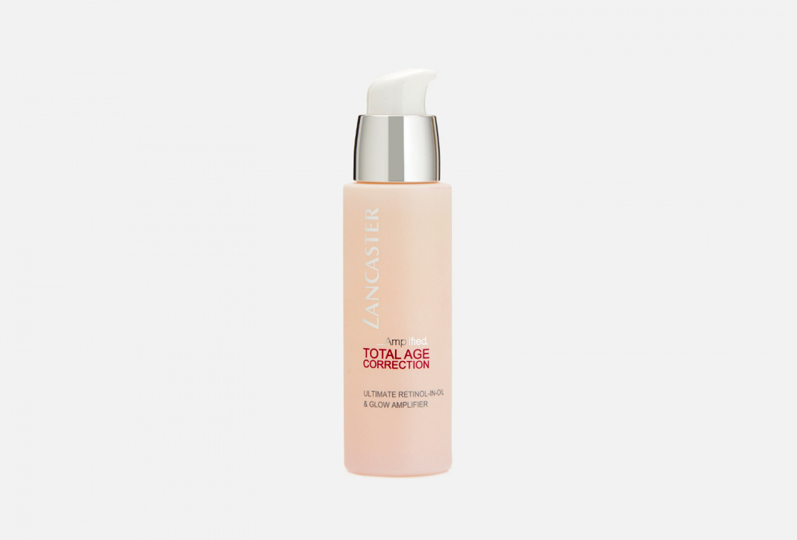 сыворотка для лица LANCASTER Total Age Correction Amplified Ultimate Retinol-in-Oil & Glow Amplifier