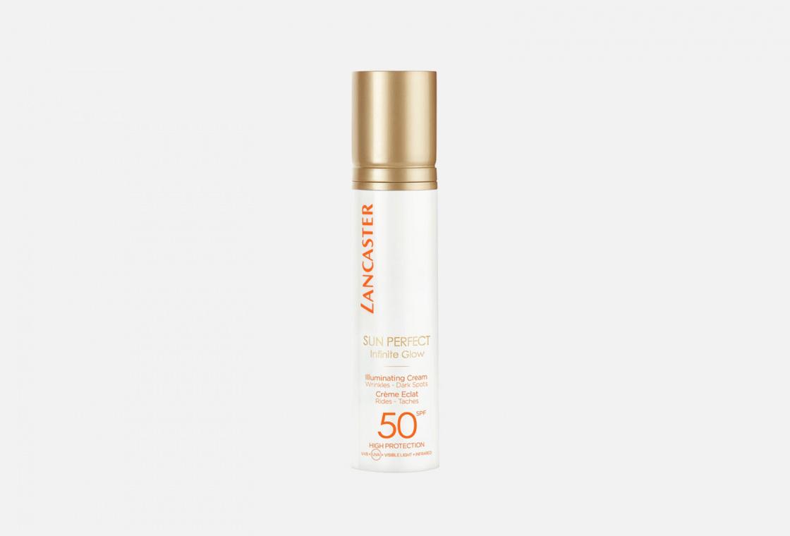 солнцезащитный крем для лица SPF50 LANCASTER  Sun Perfect Infinite Glow