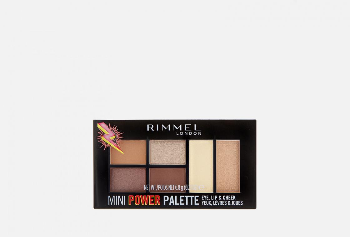 Универсальная палетка Rimmel Mini Power Palette