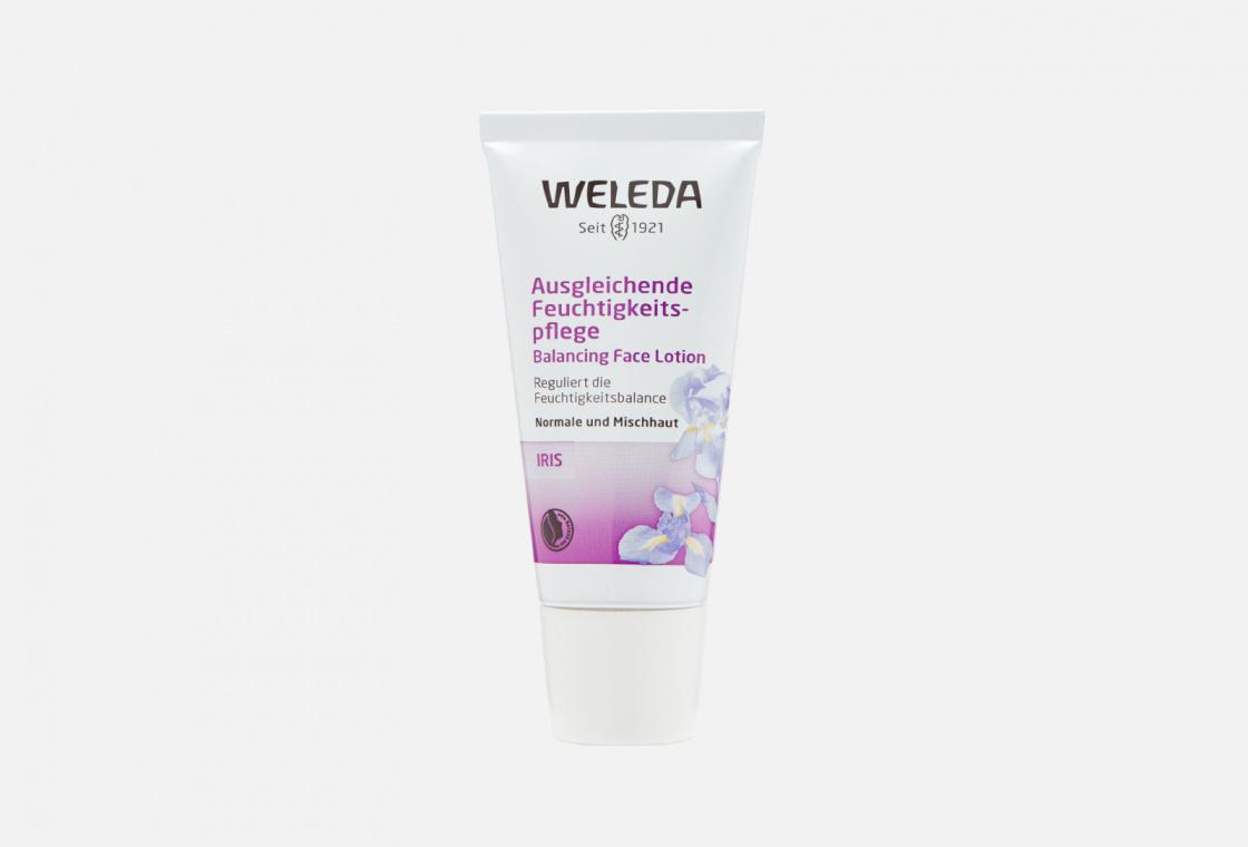 Крем-уход для лица освежающий увлажняющий  Weleda Iris Hydrating Facial Lotion