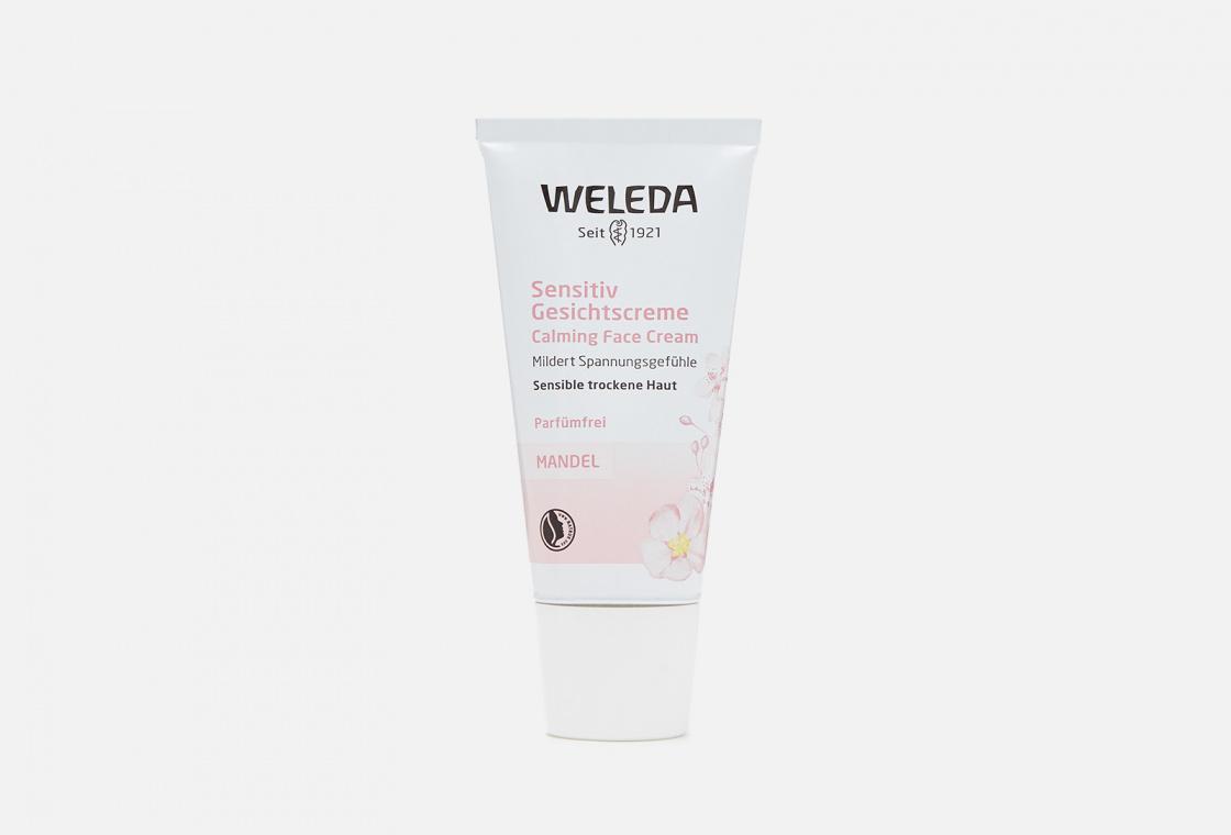 Крем-уход для лица деликатный питающий Weleda Almond Soothing Facial Cream