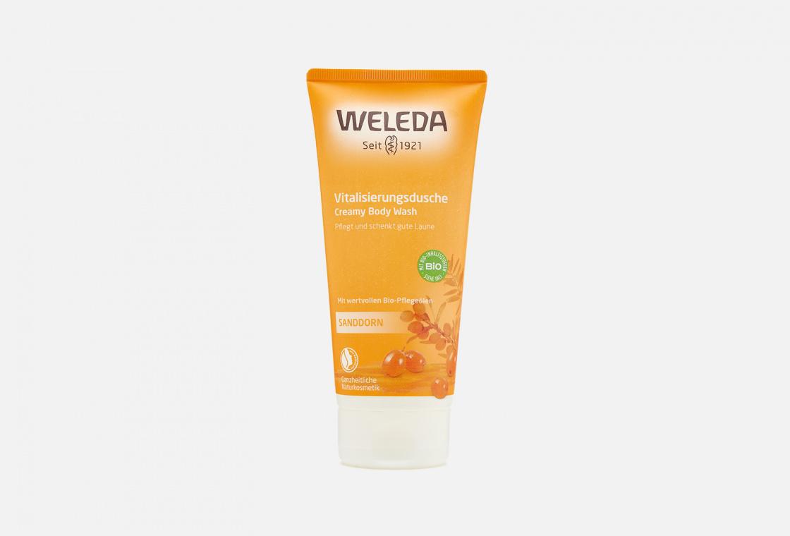 Гель для душа облепиховый тонизирующий  Weleda Sea Buckthorn Creamy Body Wash