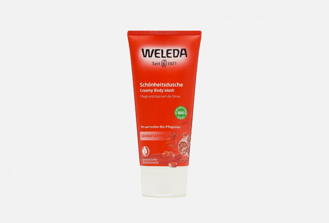 Гель для душа гранатовый  Weleda Pomegranate Body Wash