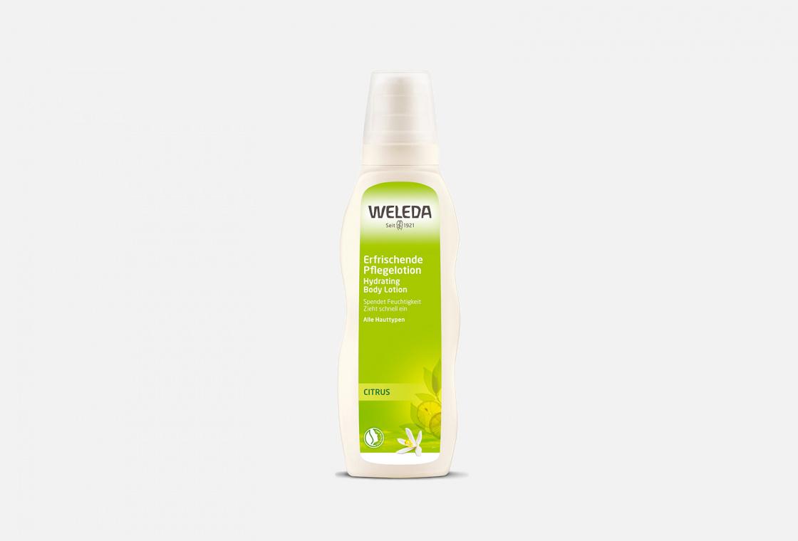 Молочко для тела цитрусовое освежающее  Weleda Citrus hydrating
