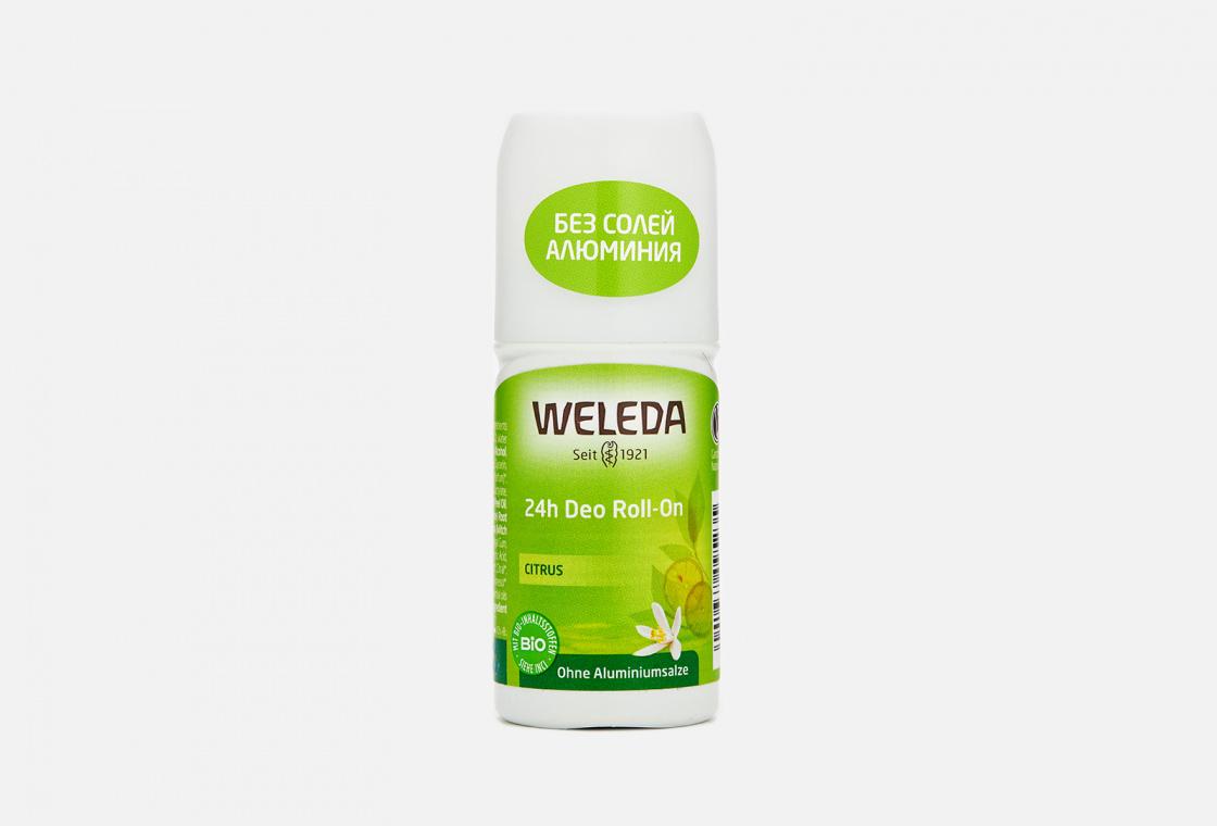 Дезодорант цитрусовый  24 часа Weleda Citrus