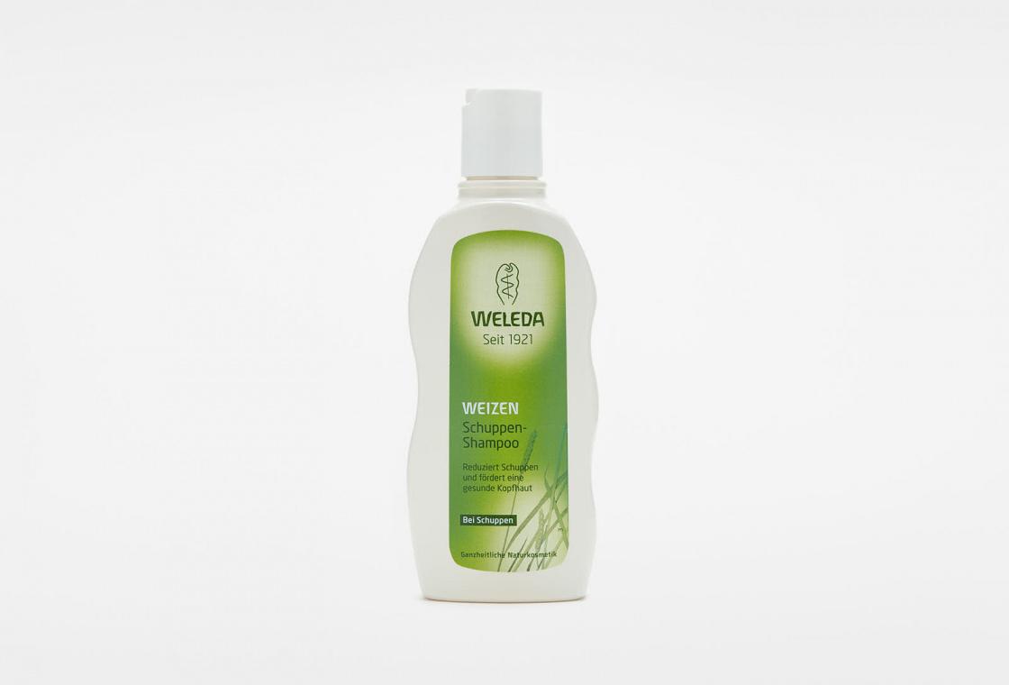 Шампунь для волос от перхоти с экстрактом Пшеницы  Weleda Wheat Balancing Shampoo