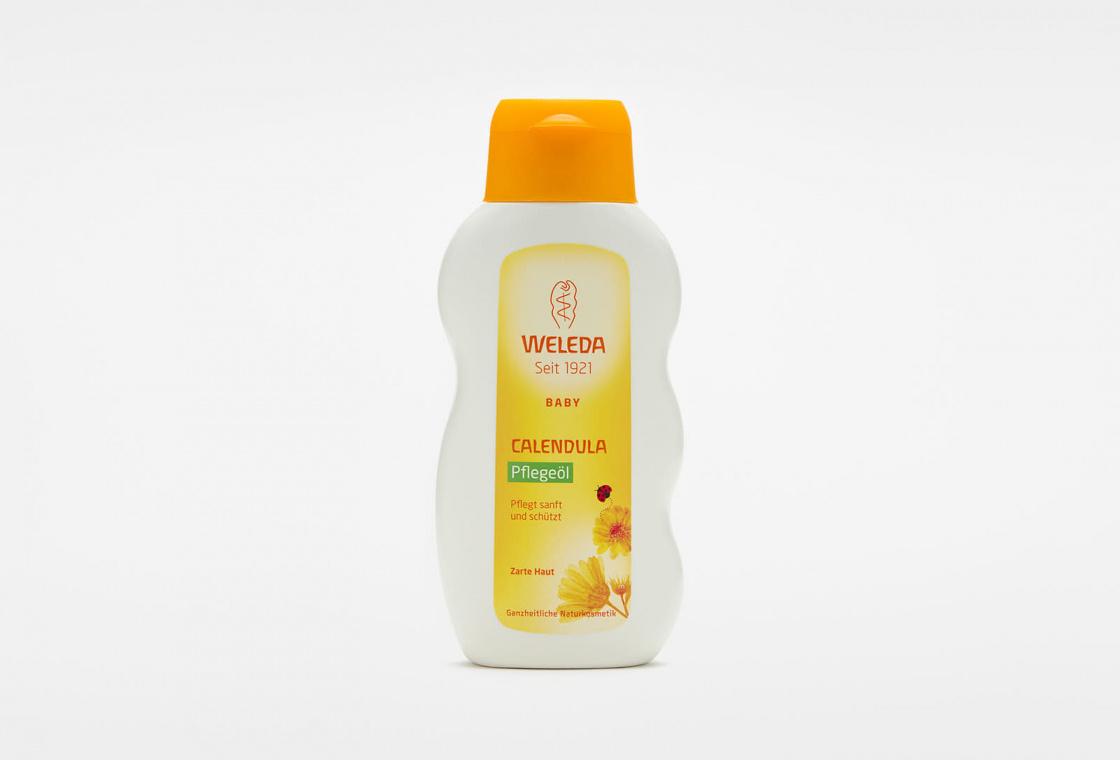 Масло для младенцев с календулой с нежным ароматом  Weleda Calendula Oil