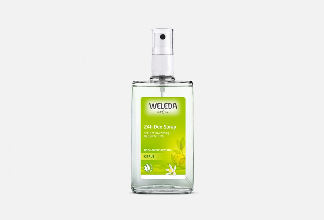 Дезодорант-спрей цитрусовый  Weleda Citrus Deodorant