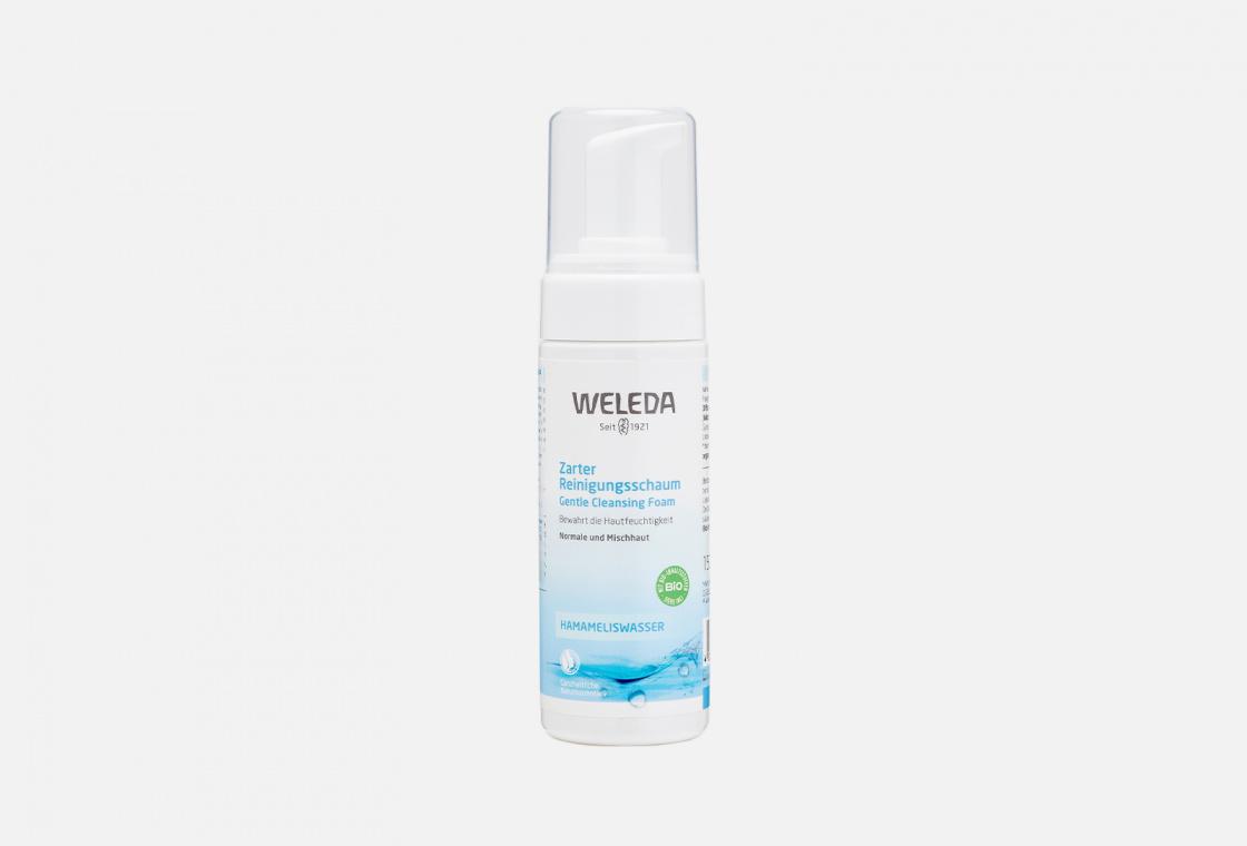 Пенка для умывания мягкая  Weleda Gentle Cleansing Foam