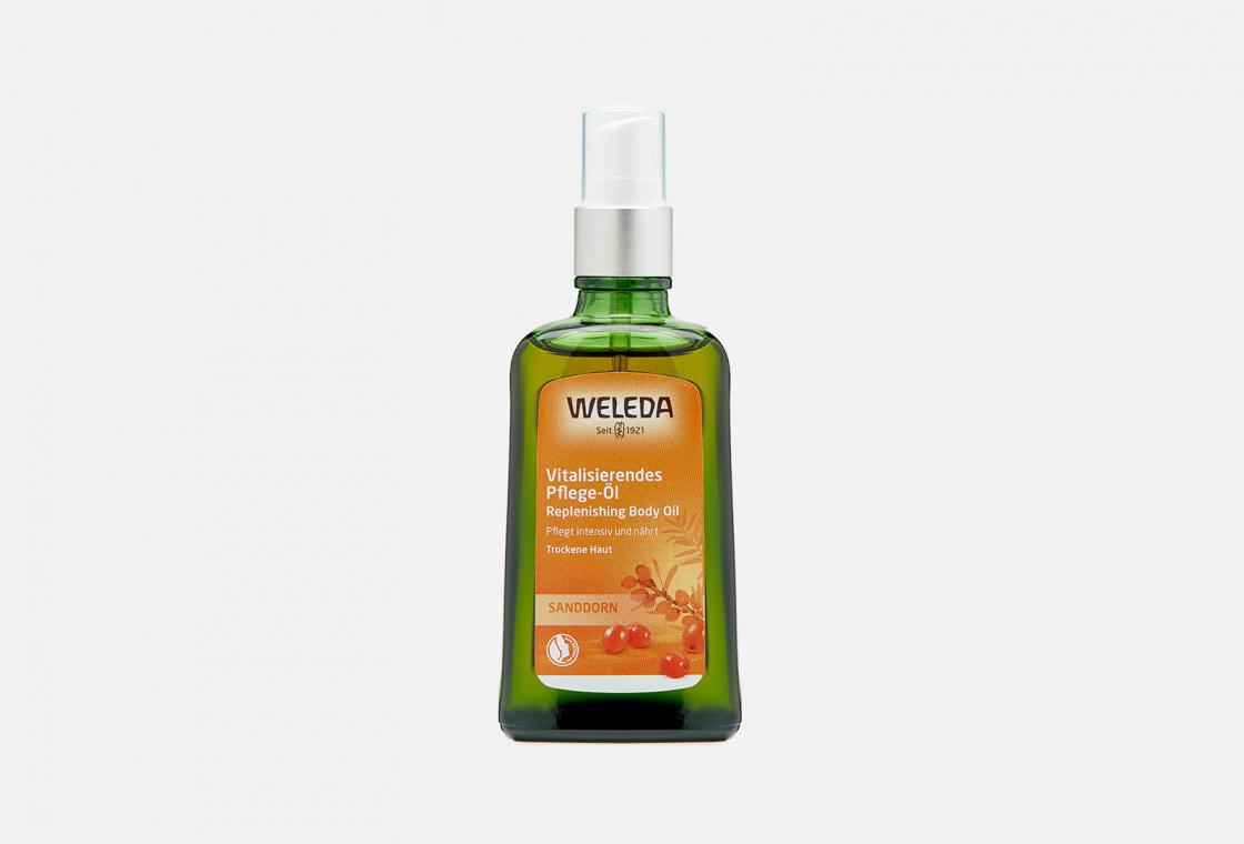 Масло питательное облепиховое  Weleda Sea Buckthorn Replenishing Body Oil